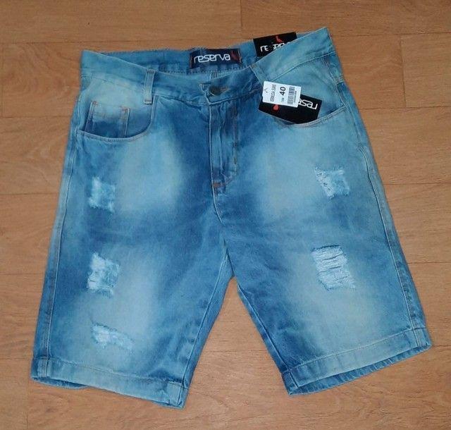 Bermuda Masculino Jeans - Foto 6