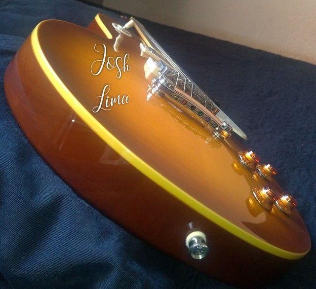 Guitarra Epiphone Les Paul Standard PRO Honeyburst - Foto 4