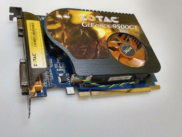 Placa de video Nvidea Ge-Force 9500GT 1GB 128Bits  - Foto 4