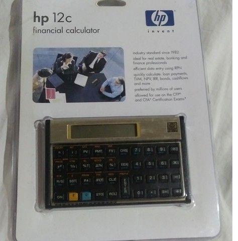 Calculadora Financeira HP 12C Gold - Foto 2