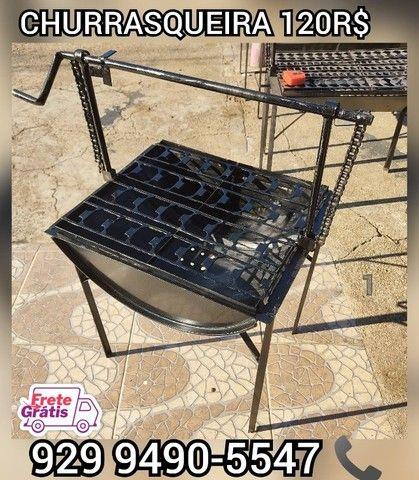 churrasqueira tambo brinde 2 saco Carvão  entrega gratis ####