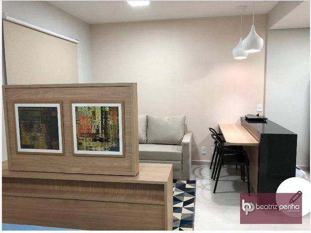 Apartamento com 1 dormitório para alugar, 34 m² por R$ 2.200,00/mês - Jardim Panorama - Sã - Foto 3