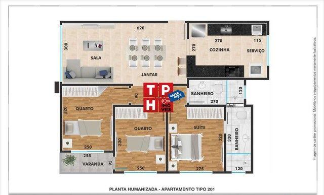 Apartamento 3 quartos no Santa Helena (Barreiro) - Foto 4