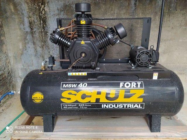 Compressor 10 hp novo na garantia