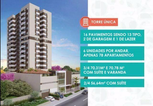 Zionni Residencial - Apartamento de 2 quartos com suíte no Jabotiana