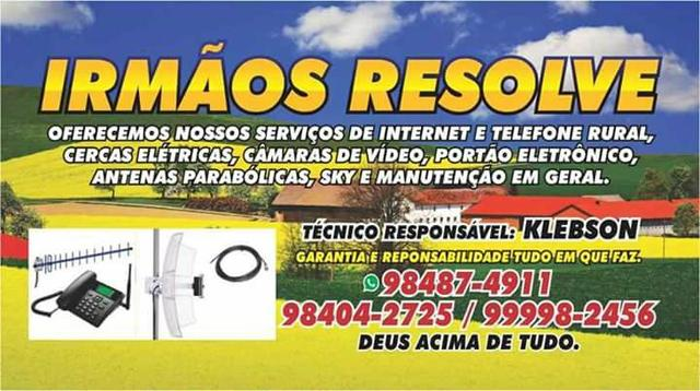 Internet e telefonia rural