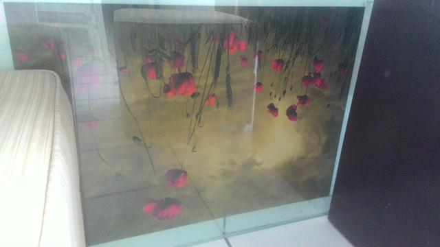 Quadro decorativo de vidro 80x60