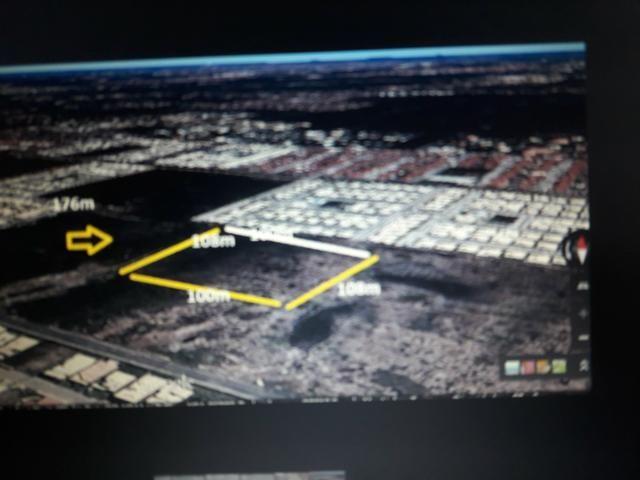 Área (terreno) comercial na Av. Melício Machado med. 108 m x 822,80 m - Foto 3