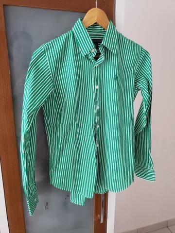 Camisa Polo Ralph Lauren tamanho 4 (M)