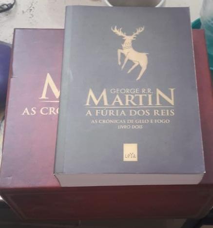 f7dbdeb8c A Fúria dos Reis - As Crônicas de Gelo e Fogo Livro 2 - Livros e ...
