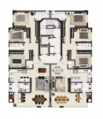 Apartamento à venda com 3 dormitórios em Centro, Balneário camboriú cod:199