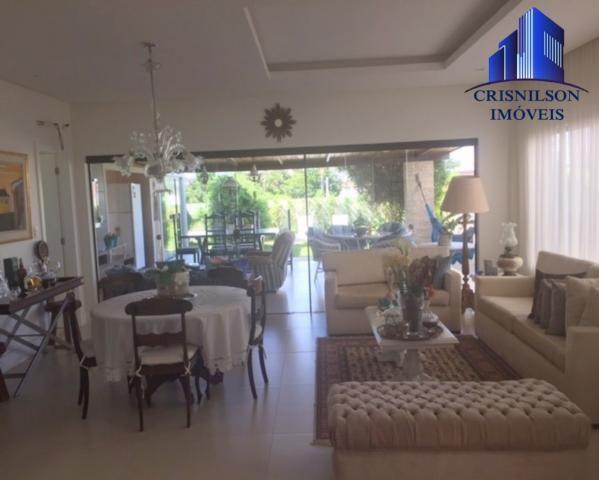 Casa à venda alphaville ii salvador, r$ 1.350.000,00, excelente casa térrea com jardim, am - Foto 14