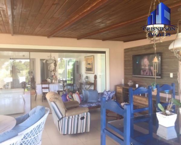 Casa à venda alphaville ii salvador, r$ 1.350.000,00, excelente casa térrea com jardim, am - Foto 2