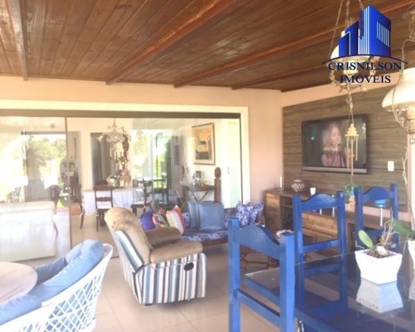 Casa à venda alphaville ii salvador, r$ 1.350.000,00, excelente casa térrea com jardim, am - Foto 9