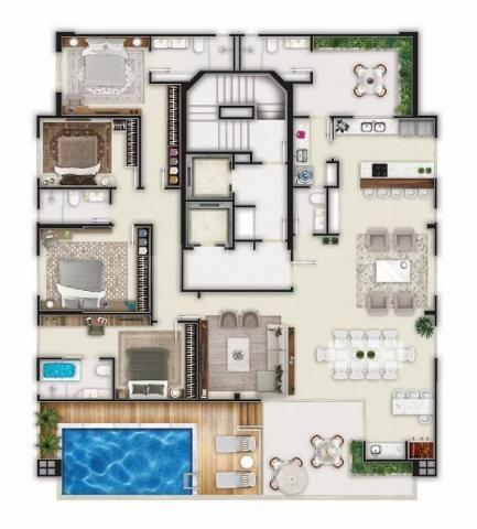 Apartamento à venda com 3 dormitórios em Centro, Balneário camboriú cod:199 - Foto 2