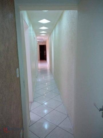 Apartamento com 3 dormitórios à venda, 90 m² por r$ 399.000 - parque das nações - santo an - Foto 14