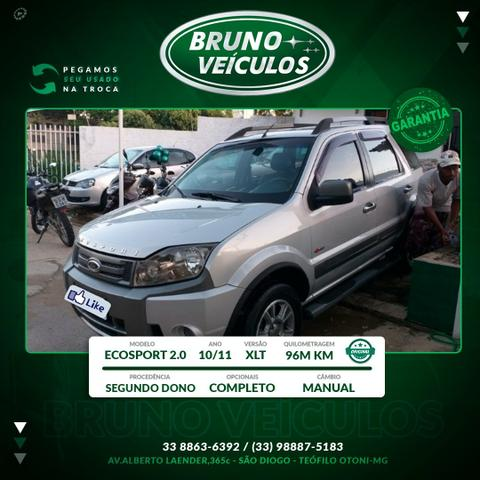 Ford ecosport 2.0 xlt 4wd 10/11 completo