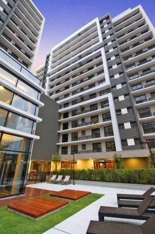 Ótimo apartamento de 1 dormitório para alugar, 42 m² por R$ 1.800/mês - Central Parque - P - Foto 17