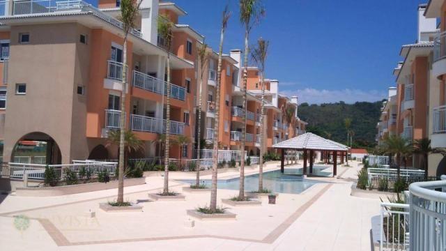 Vista com área verde churrasqueira, 50 metros da praia - Foto 18