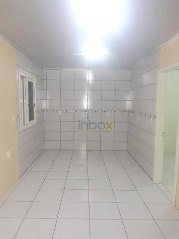 Inbox aluga - casa parte superior de 2 dormitórios com churrasqueira e garagem - Foto 2