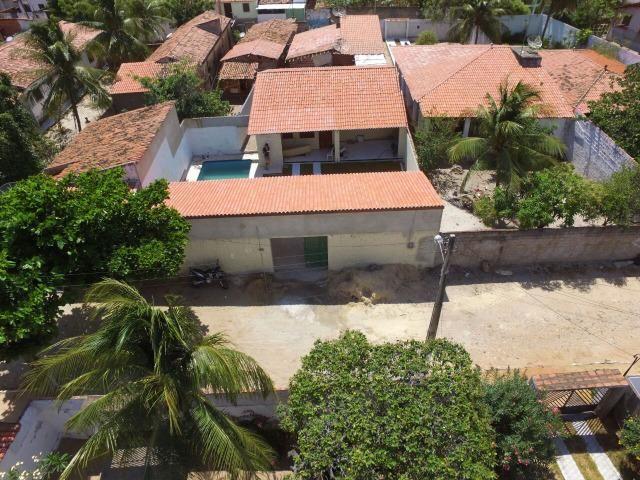 Casa amplo deck piscina 3 suites centro paracuru - Foto 10