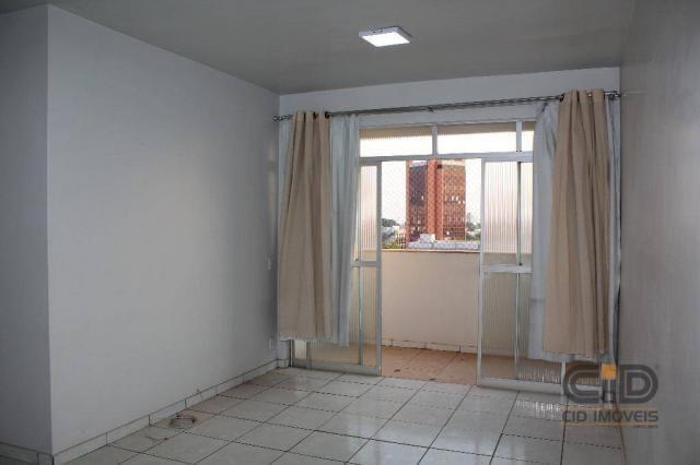 Apartamento com 3 dormitórios para alugar, 120 m² por r$ 1.900,00/mês - miguel sutil - cui - Foto 2