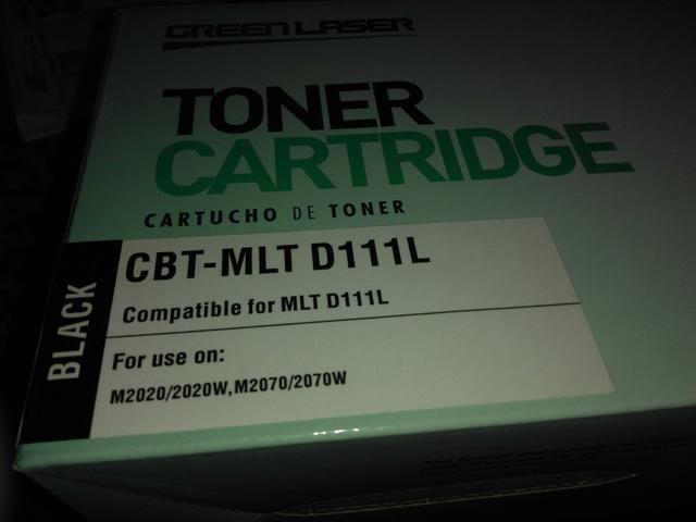 Tinta pra impressora CBT-MLT D111L M2020,2020W,M2070,2070W - Foto 2