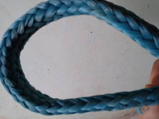 """Corda trançada de polietileno 5/8"""" com a caixa - Foto 3"""