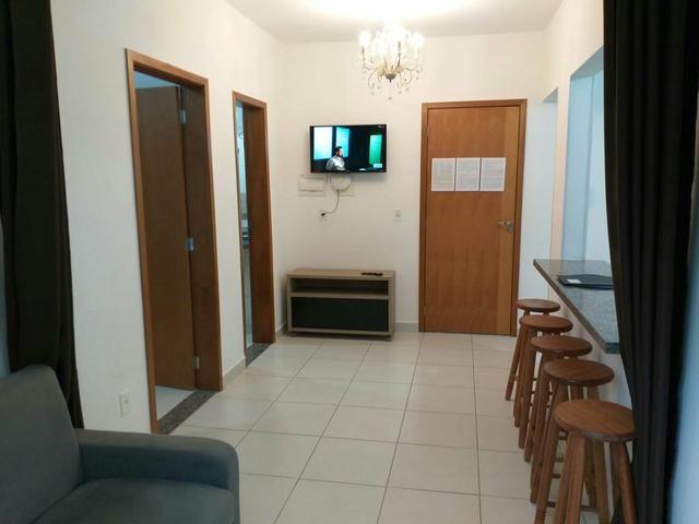 Apartamento mobiliado de TEMPORADA novinho bem localizado - Foto 7