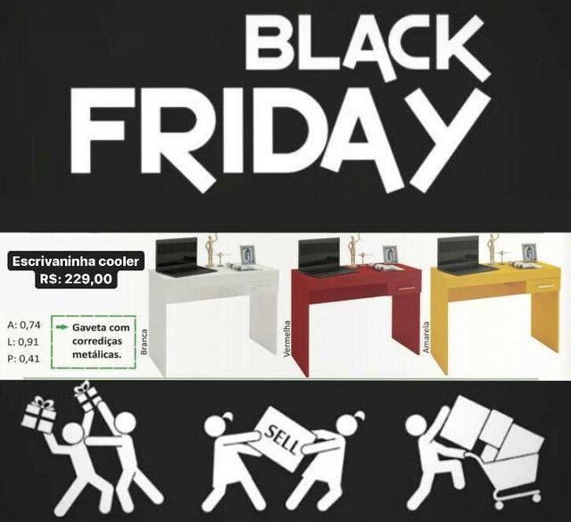 Escrivaninha cooler de Black Friday