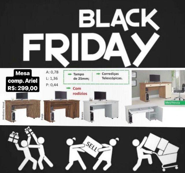 Masa de escritórios Black Friday imperdível