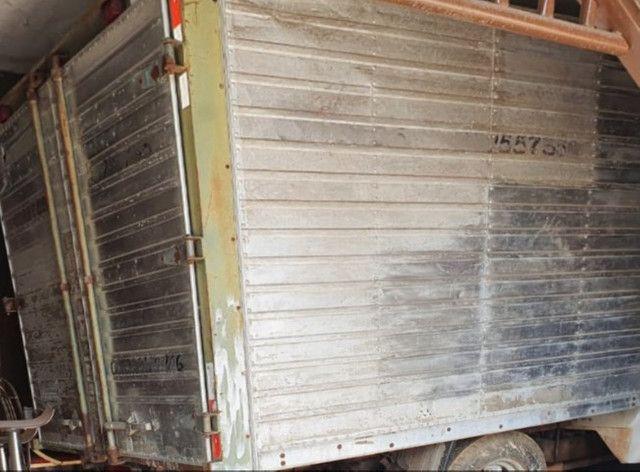 Carroceria em alumínio 1.80x2.00x2.50m para C10 ou A10