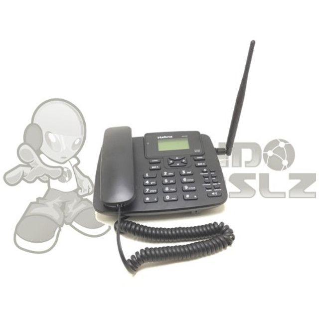 Kit Telefone Rural Intelbras GSM 2 chip em são luis ma - Foto 3