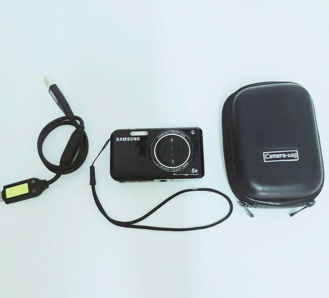 Câmera Samsung P120 5x excelente estado - Foto 2