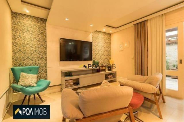 Casa com 3 dormitórios para alugar, 256 m² por R$ 3.000,00/mês - Vila Jardim - Porto Alegr - Foto 7
