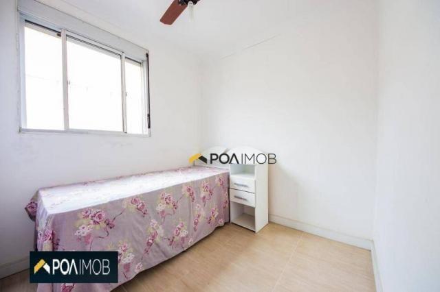 Apartamento com 2 dormitórios para alugar, 54 m² por R$ 1.800,00/mês - Protásio Alves - Po - Foto 5