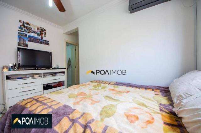 Apartamento com 2 dormitórios para alugar, 54 m² por R$ 1.800,00/mês - Protásio Alves - Po - Foto 8