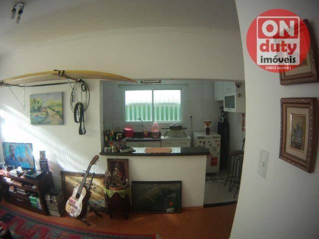 Apartamento com 1 dormitório à venda, 48 m² por R$ 240.000,00 - Ponta da Praia - Santos/SP