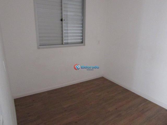 Apartamento com 1 dormitório para alugar, 49 m² por R$ 600/mês - Parque Yolanda (Nova Vene - Foto 10