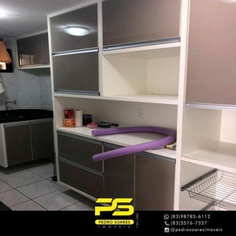 Apartamento com 2 dormitórios à venda, 59 m² por R$ 157.000 - Jardim Cidade Universitária  - Foto 3
