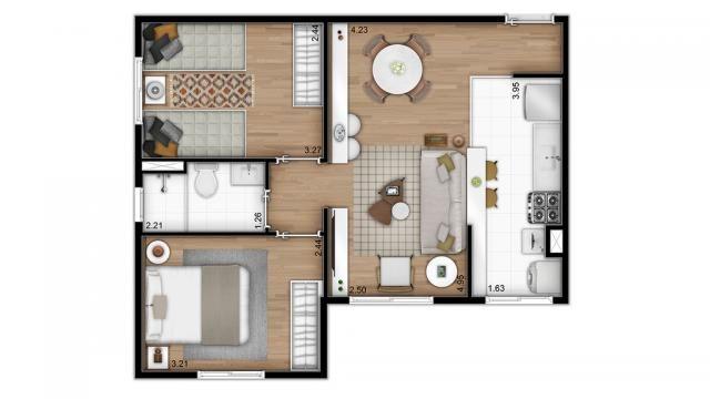 Apartamento residencial para venda, Cambuci, São Paulo - AP7472. - Foto 14