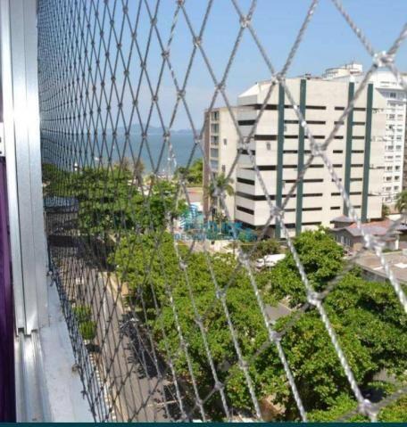 Apartamento com 1 dormitório à venda, 63 m² por R$ 399.000,00 - Ponta da Praia - Santos/SP