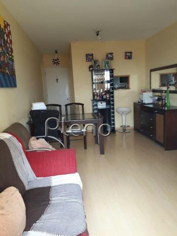 Apartamento à venda com 3 dormitórios em Bonfim, Campinas cod:AP008615