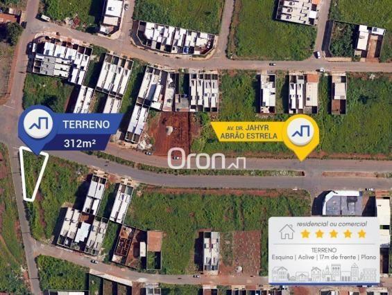 Terreno à venda, 312 m² por R$ 110.000,00 - Residencial Paulo Estrela - Goiânia/GO