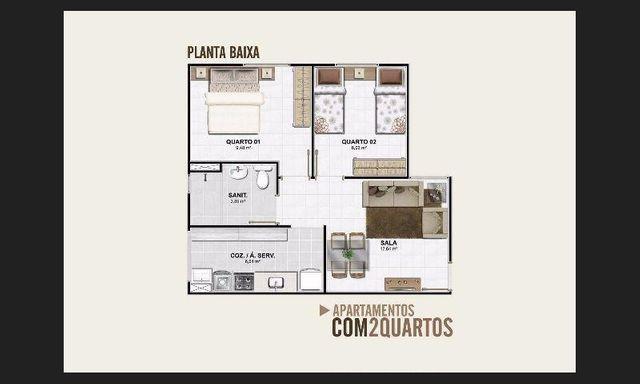 Apartamento Vinhedos 2/4 venda - Foto 11