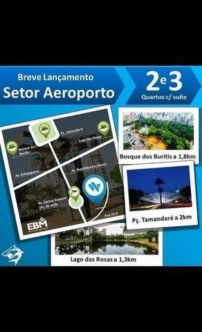 Apartamento de 2/4 com Suíte Setor Aeroporto, Entrada 22 mil - Foto 2