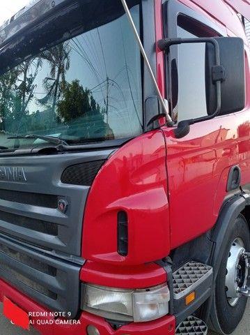 Scania P340 2011 + Baú Random 2008 15m + Rastreador Autotrac - Foto 8
