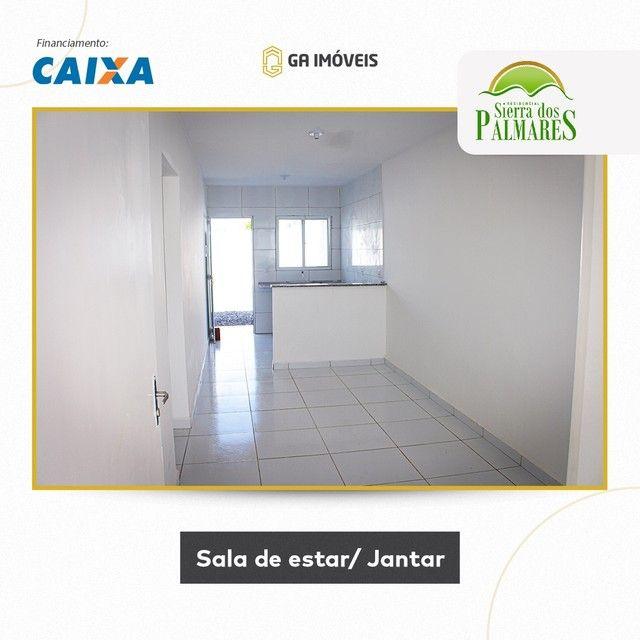 Lindas casas novas em Palmares, Pernambuco, 2 quartos, amplo quintal por apenas 130mil! - Foto 4