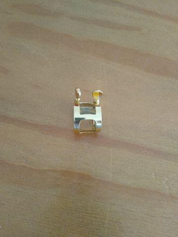 Sax Alto - Clarinete - Abraçadeira Dourada - Foto 3