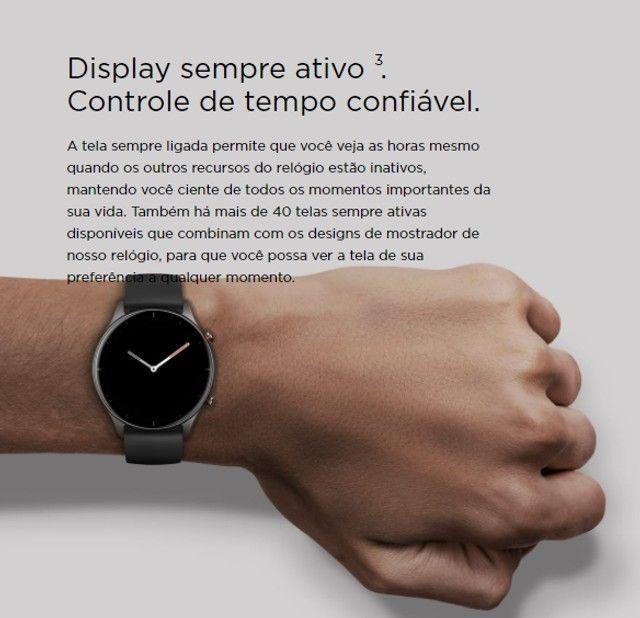 Relógio Smartwatch Amazfit gtr 2e - Foto 6